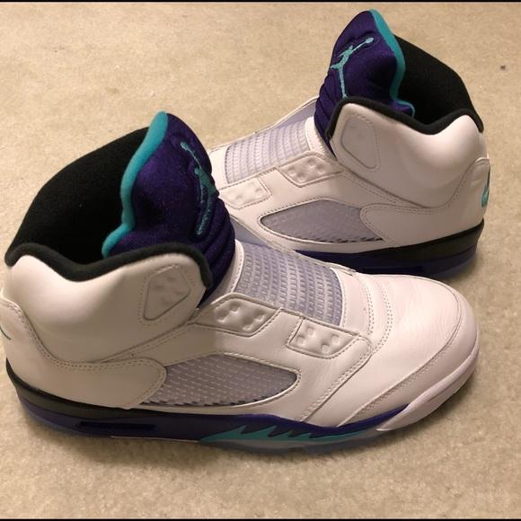 "fe6734e274a6ac Air Jordan 5 Grapes ""Fresh Prince"" New"
